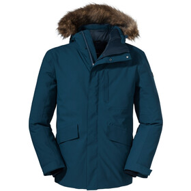 Schöffel Budapest Down Jacket Men moonlit ocean
